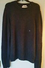 NWT Abercrombie & Fitch Mens Macintyre Bridge Blue Pullover Sweater - XXL