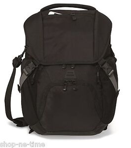 "Vertex Convertible 15"" Laptop / MacBook Pro Black Backpack / Messenger Bag - New"
