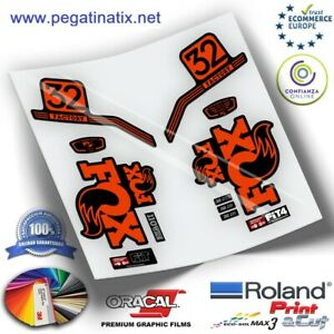 Details Zu Stickers Horquilla Fork Stickers Gabel Aufkleber Fox 32 Pro Issue Series Wp231