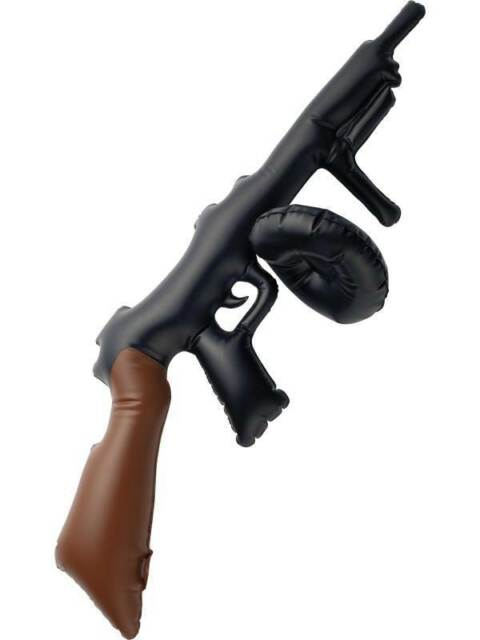 Fake/Inflatable Tommy Gun, 1920's Razzle Fancy Dress