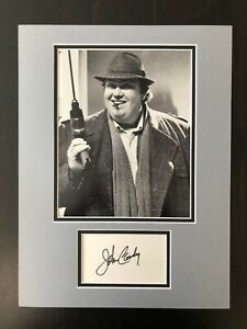 JOHN-CANDY-SIGNED-AUTOGRAPH-MATTED-DISPLAY-UNCLE-BUCK-HOME-ALONE-OPTION-1