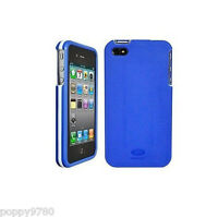 Agf Beetle Lightweight Shell Cover Case Iphone 4/4s Blue/white- Retail Packaging