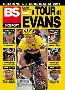 BS Bicisport Edition Extraordinary Tour De France Cadel Evans Winner 2011