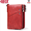 Men-Genuine-Leather-Cowhide-Wallet-Bifold-RFID-Credit-Card-Holder-Zipper-Purse thumbnail 13