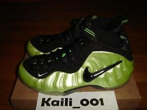 cheap for discount f7a34 d8495 Image is loading Nike-Air-Foamposite-Pro-Size-11-5-Electric-
