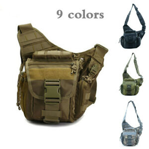 Tactical-Messenger-Bag-Military-Sling-Shoulder-Pack-Backpack-Hiking-Camping