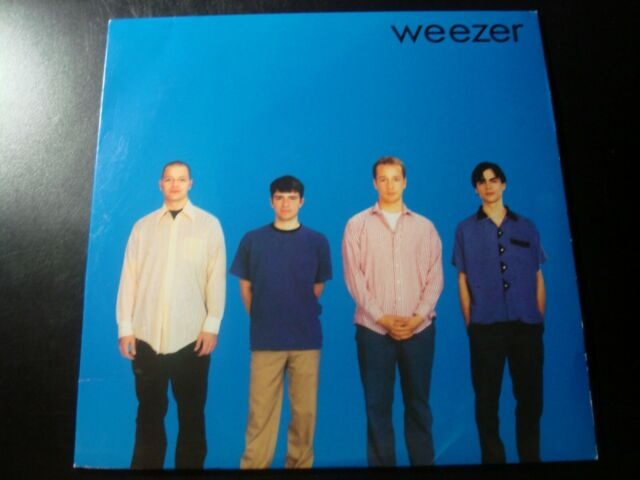WEEZER SELF TITLED LP RECORD