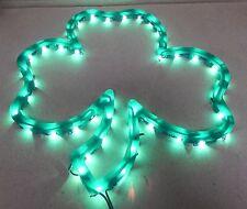 "Happy St.Patricks Day Lighted Shamrock Instant Decor 16""x14"" Indoor/Outdoor 118U"