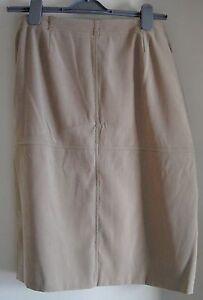 Ladies-Beige-Skirt-Size-10
