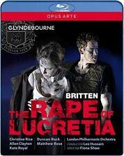The Rape of Lucretia [Blu-ray], New Disc, Christine Rice, Fiona Shaw, Allan Clay