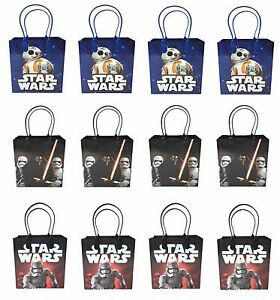 Image Is Loading 48ct Disney Star Wars Goodie Bags Birthday