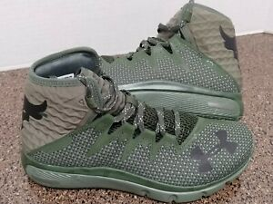 Under Armour Project The Rock Delta DNA Black Shoes New Mens 3020175 300 Size