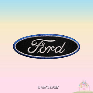 Ford Car Brand Logo Embroidered Iron On Patch Sew On Badge Applique