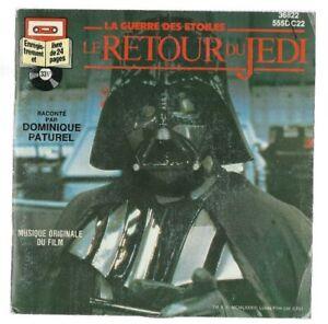 Vintage-FRENCH-Star-Wars-Return-Of-The-Jedi-Le-Retour-Du-Jedi-BOOK-amp-RECORD