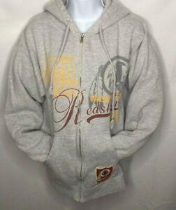 Détails sur Washington Redskins | NFL Shop Full Zip Sweat à capuche veste | Gris (taille: M) afficher le titre d'origine