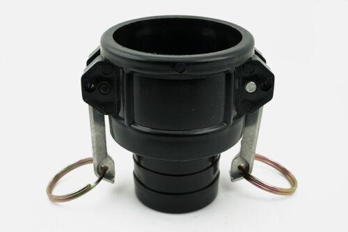"2/"" Camlock Hose Type C Adaptor Fitting New 1000L IBC Water Tank 50mm"