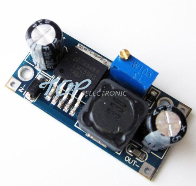 10PCS LM2596 DC-DC Buck Converter Step Down Module Power Supply Output 1.23V-30V