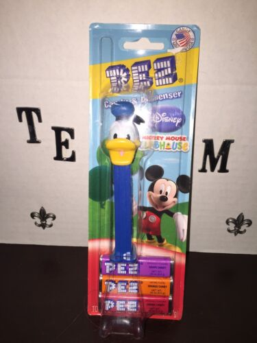 NEW PEZ Disney Mickey Mouse Clubhouse Candy & Dispenser Donald Duck