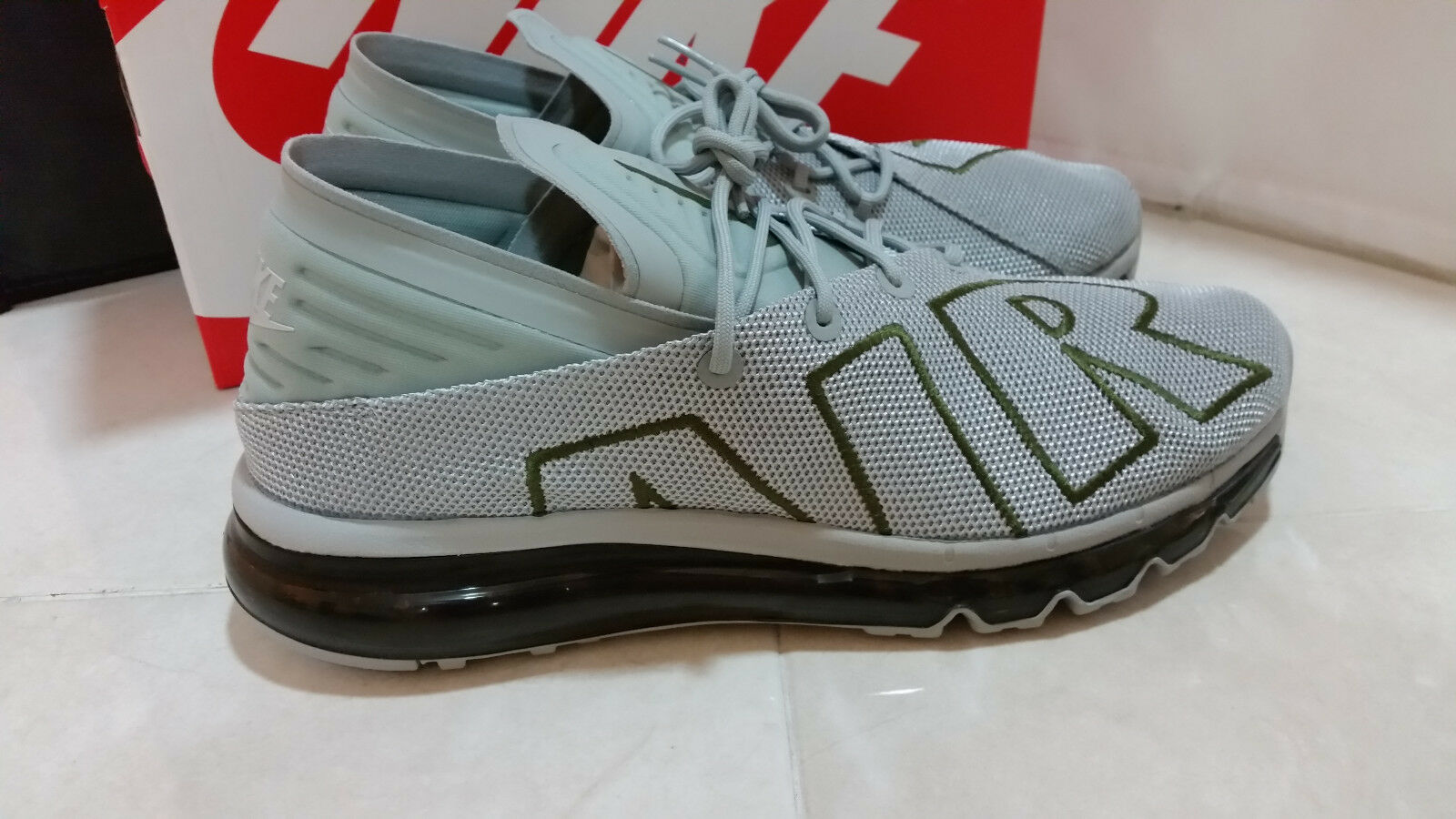 NIKE  AIR MAX FLAIR FLAIR FLAIR  942236 009  MENS  RUNNING  SHOES SIZE 9.5  COLOR  GREY 75e0f2