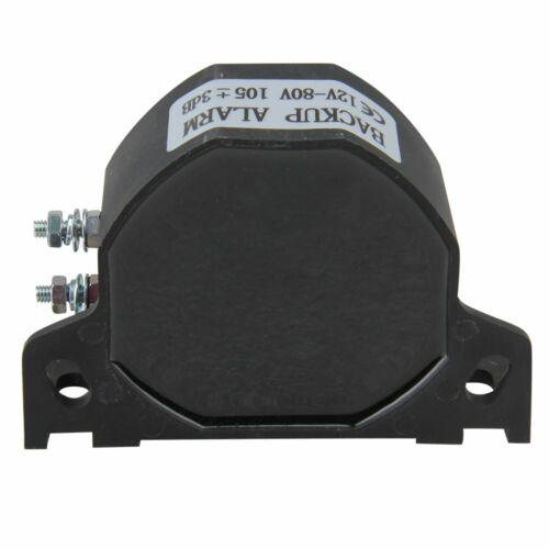 Universal 102dB Backup Warning Alarm Beeper Reversing Horn Truck Heavy Vehicle