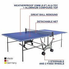 Superieur Item 1 Kettler Axos 1 Outdoor Folding Weatherproof Table Tennis Ping Pong  Table   Blue  Kettler Axos 1 Outdoor Folding Weatherproof Table Tennis Ping  Pong ...
