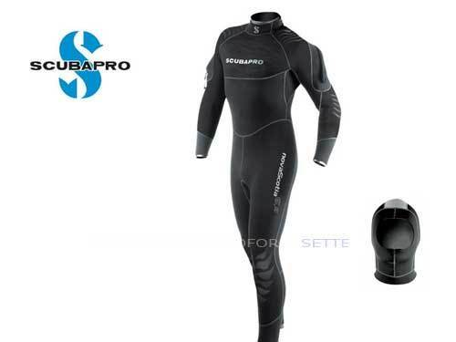 Wetsuit Semidry Scubapro Nova Scotia Neoprene 0 5 32in  Size Medium  with 100% quality and %100 service
