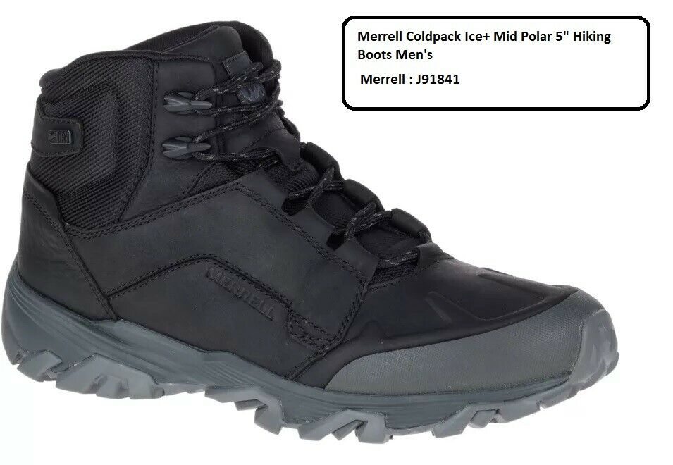 Merrell Coldpack Ice+ Mid Polar 5  Hiking Boots  Men's J91841