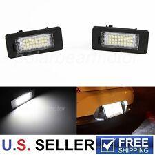 2 Pcs BMW E39 E60 525i 530i 535i 545i 550i M5 LED License Plate Light Error Free