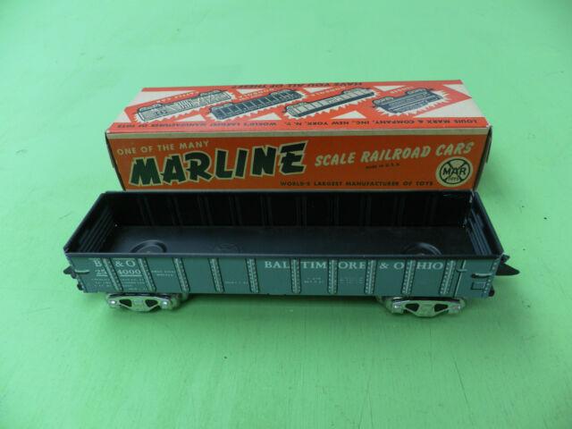 Marx B & O Scale Gondola -- Mint(18) -- Train