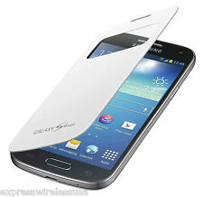Samsung Galaxy S4 MINI S-View Case Cover 100% Original Authentic OEM - White