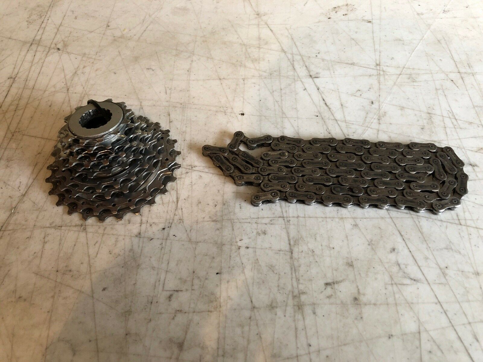 Campagnolo 10 Speed  12-25T Cassette And ConneX Chain  be in great demand