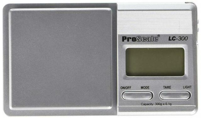Proscale Luxe 600 Pocket Scale 600g//0,1g Precision Weighing Gold Digital