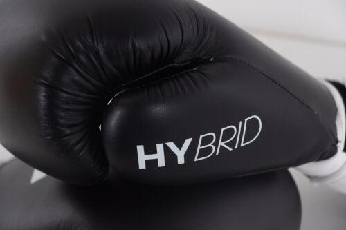 reputable site b181d 45664 10 sur 12 Adidas Gants de Boxe Combat Hybride 100 8oz 283 Gr 12oz 14oz 16  oz Noir Rouge
