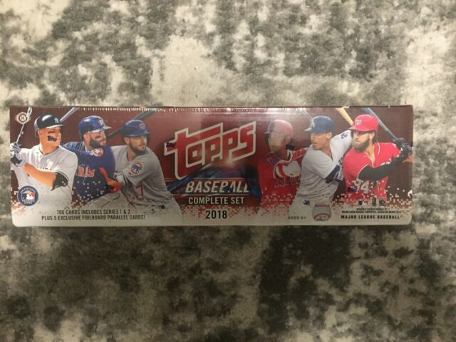 MLB 2018 Topps Baseball Complete HOBBY Edition Set [Series 1/2] FACTORY SEALED