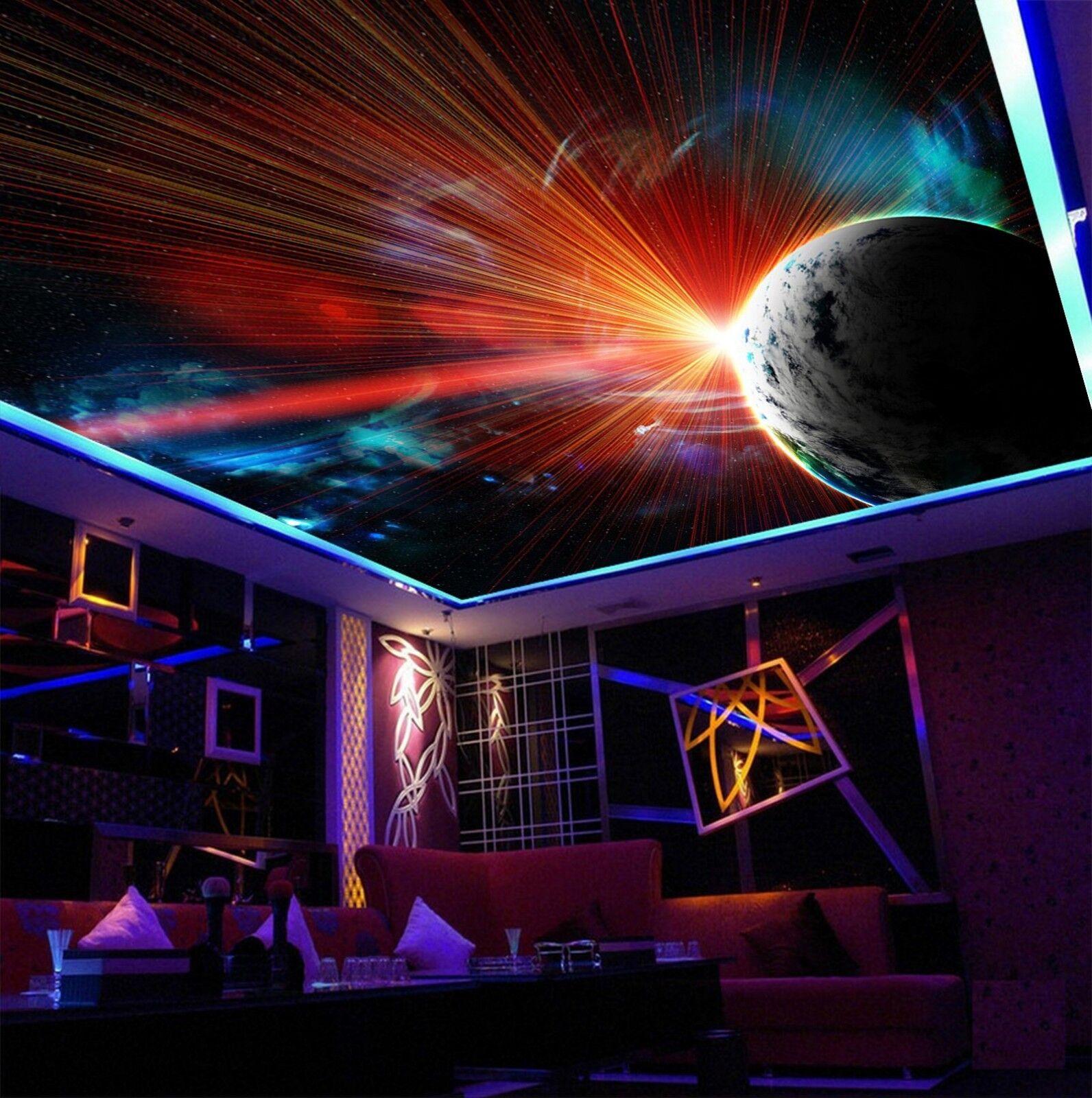 3D Universe Planet 836 Wall Paper Wall Print Decal Wall Deco AJ WALLPAPER Summer