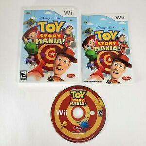 COMPLETE - Toy Story Mania - Disney / Pixar - Nintendo Wii 2009