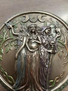 Nemesis-Now-039-Mother-Maiden-Crone-039-trinket-box-Hand-painted-9-5cm-Pagan-BNIB