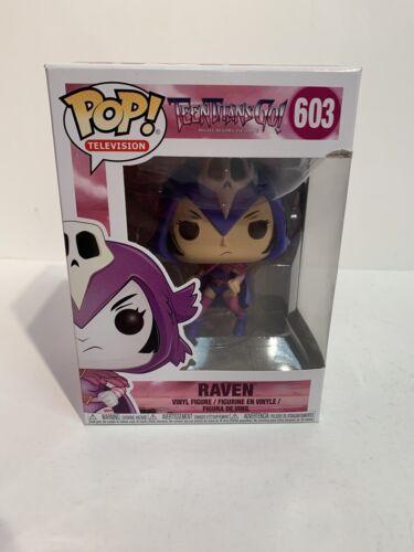 Teen Titans Go Vinyle — livraison gratuite La nuit commence à briller Raven POP