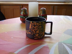 Starbucks  Aged Sumatra Golden Sail Boat mug Ceramic 14 Oz NWB! 2016
