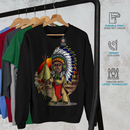 Native Indian Felpa New Man Black Men x6nwZ4
