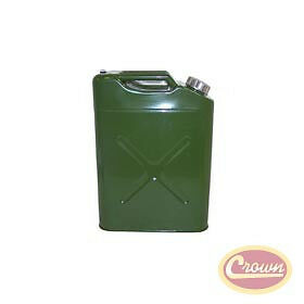 Jerry Can 11010R 5-Gallon Metal Safety Gas Tank Gerry Can Green Olive Drab