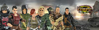 Us Toy The Corps Faction Face Off 2 Figure Set With Accessories - 4 Assorted Pa
