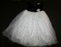 Marmellata Brand Easter Holiday Party Black And White Dress Size 6x Year