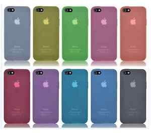 iPhone-4-4S-TPU-Huelle-Silikon-Cover-Schale-Case-transparent-matt-klar-Bumper