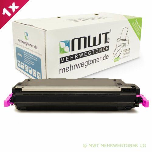 4x MWT Office TONER//Chip sostituisce HP q6470a q7581a q7582a q7583a 501a 503a