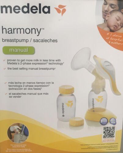 Manual Breast Pumps Sealed Medela Harmony Breast Pump Baby ...