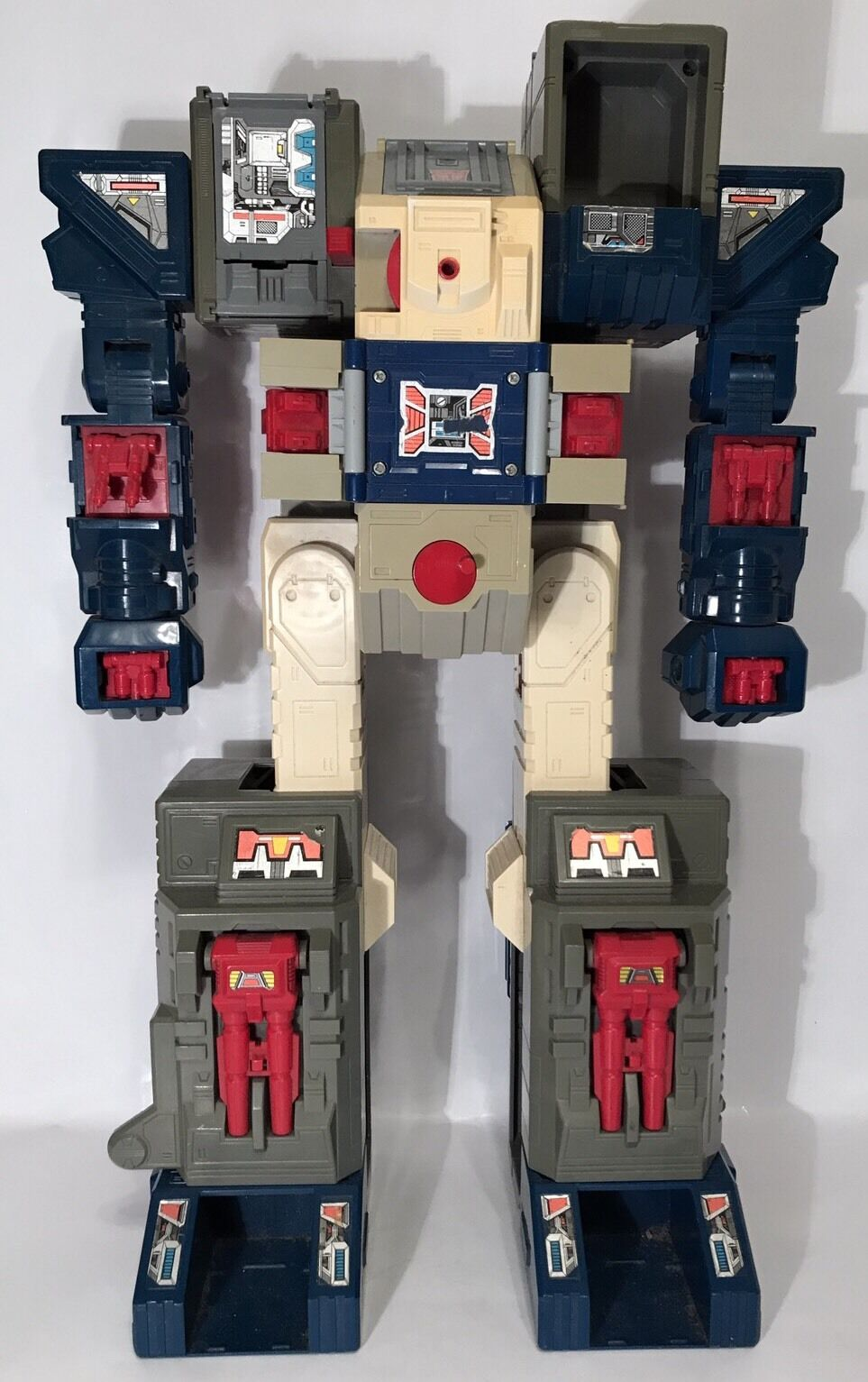 Vintage Transformers G1 Fortress Maximus Fort Max Autobot City Base Playset Part
