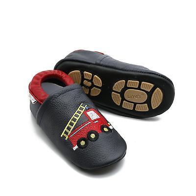 Pantofole's Krabbelschuhe Pantofole Liya - #683 Vigili Del Fuoco In Blu Scuro- Elegante Nell'Odore