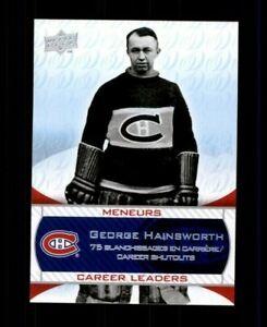 2008-09-Upper-Deck-Montreal-Canadiens-Centennial-242-George-Hainsworth-r-97975