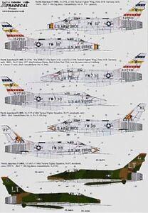 Xtradecal-1-48-F-100D-F-100F-Super-Sabre-Part-2-48084